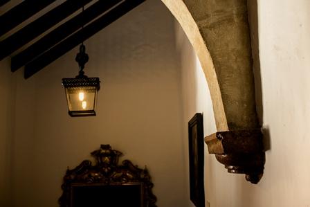 Rincón de la escalera.
