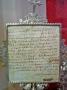 Carta autógrafa de Sta Teresa de Jesús