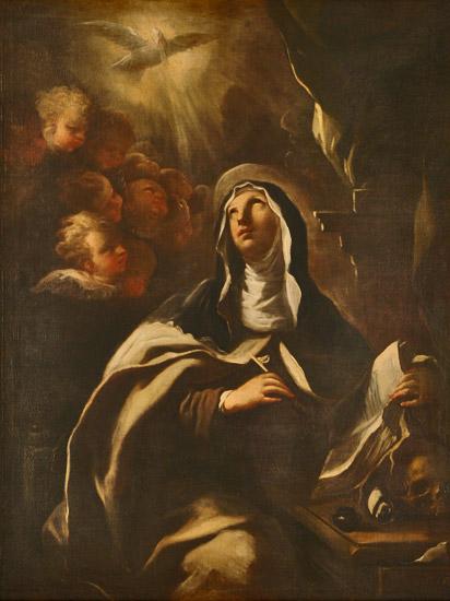Santa Teresa de Jesús-detalle